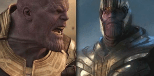 Run, Avengers, and Infinity: In Avengers: Endgame (2019), the avengers run into a character named 'Thanos'. This may paying homage to the character of the same name in Avengers: Infinity War (2018).