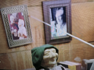 In Beerfest (2006) the greatest beer recipe in the world (hidden in a wooden doll and accused of being stolen by the grandfather of the 2 main characters) is shown between a photo of the grandfather and Great Gam Gam when the 2 main characters lose at beerfest the first time and return home: In Beerfest (2006) the greatest beer recipe in the world (hidden in a wooden doll and accused of being stolen by the grandfather of the 2 main characters) is shown between a photo of the grandfather and Great Gam Gam when the 2 main characters lose at beerfest the first time and return home