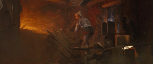 In Birds of Prey (2020), Harley's pet hyena, Bruce Wayne, was killed in an explosion because of budget cuts. The studio just didn't have that Lion King budget to keep him alive any longer so they blew his ass up.: In Birds of Prey (2020), Harley's pet hyena, Bruce Wayne, was killed in an explosion because of budget cuts. The studio just didn't have that Lion King budget to keep him alive any longer so they blew his ass up.