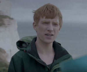 In Black Mirror's Be Right Back, Domhnall Gleeson died on set, resulting in his character to be deepfaked for the remainder of the episode.: In Black Mirror's Be Right Back, Domhnall Gleeson died on set, resulting in his character to be deepfaked for the remainder of the episode.