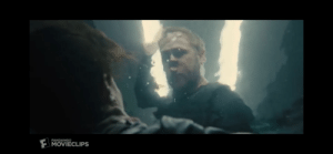 In Blade Runner 2049, K is shown with the roof lights placed on top of him like Angel wings in his most heroic moment. This specifically contrasts the character of Luv, who thought of herself as the angel of the story until this moment.: In Blade Runner 2049, K is shown with the roof lights placed on top of him like Angel wings in his most heroic moment. This specifically contrasts the character of Luv, who thought of herself as the angel of the story until this moment.