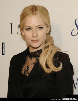 I can't believe this is Avril Lavigne without make-up.omg-humor.tumblr.com: IN  CНЕCK OUT MЕМЕРIХ.COM  МЕМЕРIХ.сом I can't believe this is Avril Lavigne without make-up.omg-humor.tumblr.com