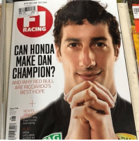 Honda, Meme, and Memes: in c  RACING  CAN HONDA  MAKE DAN  CHAMPION?  AND WHY RED BULL  ARE RICCIARDO'S  BEST HOPE  NEW F  Why  they'll boost  overtaking  ALSO  MEGA  EXCLUSIV  ACCESS TO Well this hasn't aged well... ————————————————————— ChamF1B F1 F1B F1Banter F1BanterGod Formula1 F12018 TeamF1B Formula1Banter MSB MotorsportBanter banter f1meme f1racing meme joke memes f1jokes FormulaOne racing motorsport racingjokes F1Humor racingmemes racingbanter GP GrandPrix GPRacing bwoah YeahTheMaldonado