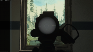 In Call of Duty: Modern Warfare (Warzone) , the Thermal Hybrid sight does not let you see through windows which is true in the real world as heat imaging does not work through glass.: In Call of Duty: Modern Warfare (Warzone) , the Thermal Hybrid sight does not let you see through windows which is true in the real world as heat imaging does not work through glass.