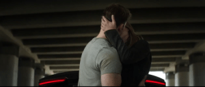 In Captain America: Civil War (2016), Steve Rodgers is kissing Peggy Carter's niece. This is because her name is Sharon and people named Sharon are heartless people who cheat on you and gain custody of your kids. Stupid Sharon. Give me my fucking kids back.: In Captain America: Civil War (2016), Steve Rodgers is kissing Peggy Carter's niece. This is because her name is Sharon and people named Sharon are heartless people who cheat on you and gain custody of your kids. Stupid Sharon. Give me my fucking kids back.