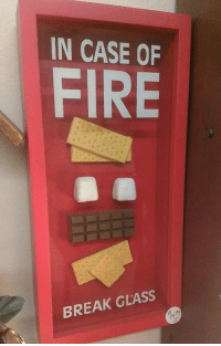 Fire, Tumblr, and Blog: IN CASE OF  FIRE  BREAK GLASS srsfunny:  Fire Safety