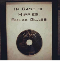 Tumblr, Blog, and Break: IN CASE OF  HIPPIES,  BREAK GLASS srsfunny:Just In Case Of Hippies
