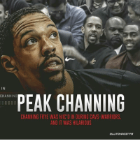 "Cavs, True, and Lebron: IN  CHANNING  PEAK CHANNING  CHANNING FRYE WAS MIC'D IN DURING CAVS-WARRIORS  AND IT WAS HILARIOUS  CLUTCHPOInTs LeBron once described Channing as ""one of the greatest and funniest guys in the world, but also…a true professional."""
