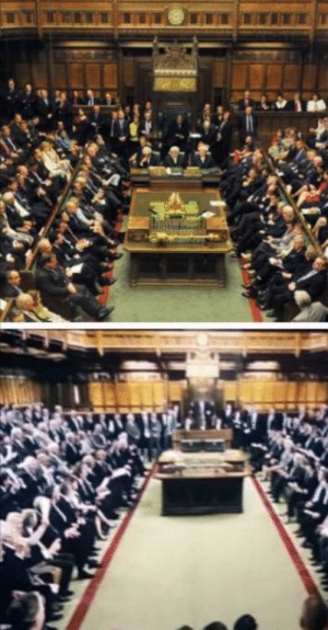 In COBRA (2020) [S1E3] The House of commons doesn't look right....: In COBRA (2020) [S1E3] The House of commons doesn't look right....
