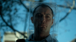 In Contagion (2011) Jude Law plays a narcissistic Journalist who shows no regard for human lives and knowingly spreads misinformation in order to profit from the pandemic. This is inaccurate, as we all know this role was actually played by the President of the United States.: In Contagion (2011) Jude Law plays a narcissistic Journalist who shows no regard for human lives and knowingly spreads misinformation in order to profit from the pandemic. This is inaccurate, as we all know this role was actually played by the President of the United States.