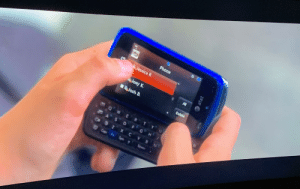 In Crazy, Stupid, Love (2011) Jonah Bobo's character is deleting a contact out of his phone, and the name Joey K. is shown, which is the name of the actress playing his sister in the movie, Joey King.: In Crazy, Stupid, Love (2011) Jonah Bobo's character is deleting a contact out of his phone, and the name Joey K. is shown, which is the name of the actress playing his sister in the movie, Joey King.
