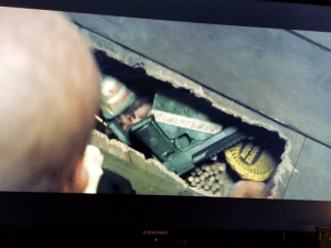 """In Deadpool 2 (2018) when Deadpool goes to Blind Als apartment and opens her floor board at the beginning of the movie there is an item that is labeled """"the cure for blindness"""" hidden inside of it.: In Deadpool 2 (2018) when Deadpool goes to Blind Als apartment and opens her floor board at the beginning of the movie there is an item that is labeled """"the cure for blindness"""" hidden inside of it."""