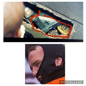 In Deadpool 2 (2018) when Deadpool goes to Blind Als apartment and opens her floor board at the beginning of the movie there is a familiar face in there: In Deadpool 2 (2018) when Deadpool goes to Blind Als apartment and opens her floor board at the beginning of the movie there is a familiar face in there