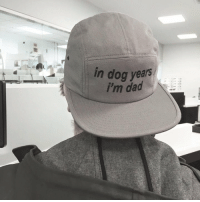 Dank, 🤖, and Dog Years: in dog years  im dad dead*