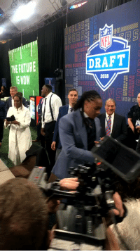 Memes, Nfl, and Maine: in  DRAFT  THE FUTUR  E NOW  OUSTON  SAN FR Welcome to the NFL, @maine_savage23!  Tremaine Edmunds is the newest member of the @buffalobills! #NFLDraft https://t.co/8WbTURoqdU