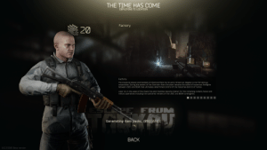 In Escape from Tarkov (2019), Your PMC operator has good trigger discipline, which you'd expect from a trained military personnel.: In Escape from Tarkov (2019), Your PMC operator has good trigger discipline, which you'd expect from a trained military personnel.