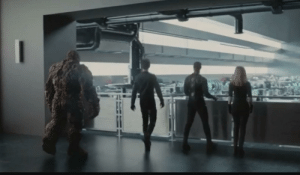 """In """"Fantastic Four"""" (2015), during this scene the characters are mostly back lit. This is four shadowing.: In """"Fantastic Four"""" (2015), during this scene the characters are mostly back lit. This is four shadowing."""