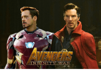 Kevin Feige confirms interaction between Tony Stark and Steven Strange in AVENGERS: INFINITY WAR and says he is most looking forward to seeing these two meet for the first time. http://tinyurl.com/hfregfj  (Brian): IN FIN ITY  WTA R. Kevin Feige confirms interaction between Tony Stark and Steven Strange in AVENGERS: INFINITY WAR and says he is most looking forward to seeing these two meet for the first time. http://tinyurl.com/hfregfj  (Brian)