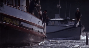 In Free Willy (1993), the boat that captures Willy is named 'Pequod' -- the same name as the boat in Moby Dick (1851): In Free Willy (1993), the boat that captures Willy is named 'Pequod' -- the same name as the boat in Moby Dick (1851)