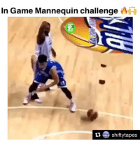 Low Key, Memes, and Mannequin: In Game Mannequin challenge  shiftytapes  ti This is low key lit. Even the coach joined in🔥🔥😂😂😂