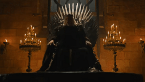 """In Game of Thrones Season 6 Epiosde 6, Bran see's a vision of the Mad King screaming """"Burn them all"""". This is foreshadowing to burn all of George RR Martin's ASOIAF lore & dialogue in order to make season 7 and 8 for people who only skim through the show to see only dragons, fights, and bad poosy.: In Game of Thrones Season 6 Epiosde 6, Bran see's a vision of the Mad King screaming """"Burn them all"""". This is foreshadowing to burn all of George RR Martin's ASOIAF lore & dialogue in order to make season 7 and 8 for people who only skim through the show to see only dragons, fights, and bad poosy."""