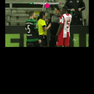 "In Germany, a fan hurled racist slurs towards Leroy Kwadwo.  When other fans saw it, they alerted security, who escorted the racist out.  Then, as opposing players came to hug Kwadwo, the entire stadium stood up and chanted ""Nazis Out!""  Well done 👏  https://t.co/XhCeSOGgM5: In Germany, a fan hurled racist slurs towards Leroy Kwadwo.  When other fans saw it, they alerted security, who escorted the racist out.  Then, as opposing players came to hug Kwadwo, the entire stadium stood up and chanted ""Nazis Out!""  Well done 👏  https://t.co/XhCeSOGgM5"
