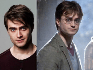 In Harry Potter and the Half-Blood Prince (2009) the main character, Harry Potter, looks like Daniel Radcliffe.: In Harry Potter and the Half-Blood Prince (2009) the main character, Harry Potter, looks like Daniel Radcliffe.