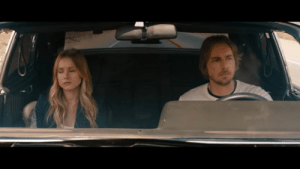 """In """"Hit And Run"""" (2012), Annie and Charlie have a conversation about the car. Charlie says, """"I just wanted a car that was fast as hell, could seat six people, and had the trunk the size of an SUV's."""" This references the bank heist that he was a part of before entering witness protection.: In """"Hit And Run"""" (2012), Annie and Charlie have a conversation about the car. Charlie says, """"I just wanted a car that was fast as hell, could seat six people, and had the trunk the size of an SUV's."""" This references the bank heist that he was a part of before entering witness protection."""