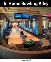 This is so awesome 😍🏡: In Home Bowling Alley  Talent  Explore This is so awesome 😍🏡