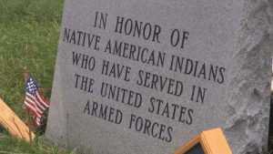 indians: IN HONOR 0F  NATIVE AMERICAN INDIANS  WHO HAVE SERVED IN  THE UNITED STATES  ARMED FORCES