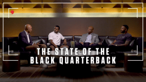 In honor of Black History Month, we take a look at last year's roundtable hosted by former and current NFL quarterbacks, @WMoon1, @EJManuel3, @deshaunwatson, and @josh_dobbs1, who discussed the state of the African-American quarterback in the NFL.  🎥: https://t.co/os6oiI5Evj https://t.co/lEQYnXpue9: In honor of Black History Month, we take a look at last year's roundtable hosted by former and current NFL quarterbacks, @WMoon1, @EJManuel3, @deshaunwatson, and @josh_dobbs1, who discussed the state of the African-American quarterback in the NFL.  🎥: https://t.co/os6oiI5Evj https://t.co/lEQYnXpue9