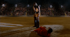 Justice, Idiocracy, and President: In Idiocracy (2006), President Camacho intervenes in Secretary Not Sure's execution. This is a foreshadowing of President Trump's attempted obstruction of justice.