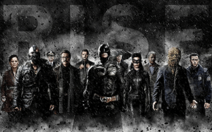 In Inception, Cobb's crew was unable to wake up that they created a new reality, where Mal becomes Talia al Ghul, Eames becomes Bane, Fischer becomes Scarecrow, Arthur becomes Blake, Saito becomes a decoy Ra's al Ghul, his father-in-law Miles becomes a butler of a projection they created: Batman.: In Inception, Cobb's crew was unable to wake up that they created a new reality, where Mal becomes Talia al Ghul, Eames becomes Bane, Fischer becomes Scarecrow, Arthur becomes Blake, Saito becomes a decoy Ra's al Ghul, his father-in-law Miles becomes a butler of a projection they created: Batman.