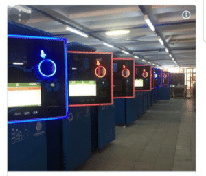In Istanbul, new recycling machines allow you to top up on your metro card if you recycle plastic bottles. You can even get a ticket to the theater.: In Istanbul, new recycling machines allow you to top up on your metro card if you recycle plastic bottles. You can even get a ticket to the theater.