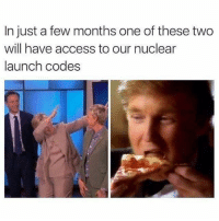 Dank, Access, and 🤖: In just a few months one of these two  will have access to our nuclear  launch codes