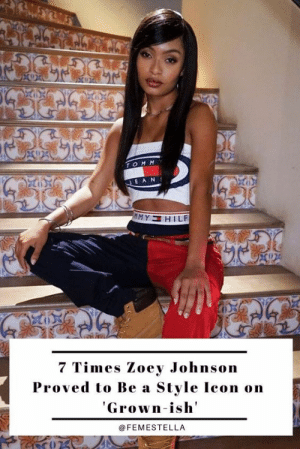 In just a few short years, Zoey Johnson has already solidified her status as a style icon (much like the actress who plays her, Yara Shahidi).Zoey's look is a mixture of designer pieces (her dad is, after all, Dre Johnson) and affordable staples. Below we've gathered together her 7 best looks, and where you can find affordable lookalikes to match her designer duds.Read it here: In just a few short years, Zoey Johnson has already solidified her status as a style icon (much like the actress who plays her, Yara Shahidi).Zoey's look is a mixture of designer pieces (her dad is, after all, Dre Johnson) and affordable staples. Below we've gathered together her 7 best looks, and where you can find affordable lookalikes to match her designer duds.Read it here