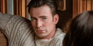In Knives Out (2019), Chris Evans speaks English, an apparent Easter egg referencing his most famous role, Captain America, who also spoke English: In Knives Out (2019), Chris Evans speaks English, an apparent Easter egg referencing his most famous role, Captain America, who also spoke English