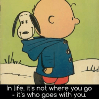 Whered You Go: In life, it's not where you go  it's who goes with you