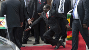 In light of the news. Here is my favourite picture of Robert Mugabe: In light of the news. Here is my favourite picture of Robert Mugabe
