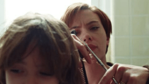 """In Marriage Story (2019), we see Charlie, Nicole, and Henry's hair get cut. This is foreshadowing for later in the movie when their last name is revealed to be """"Barber"""".: In Marriage Story (2019), we see Charlie, Nicole, and Henry's hair get cut. This is foreshadowing for later in the movie when their last name is revealed to be """"Barber""""."""