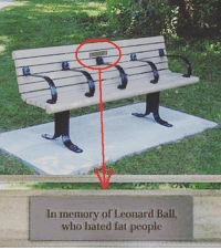 Lenny, Memes, and Savage: In memory of Leonard Ball.  who hated fat people Ol' Lenny was a savage. 😂😂