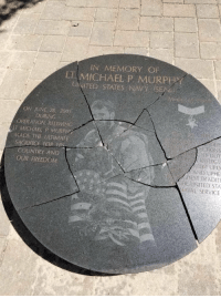 There is a cash reward to the person that finds the POS who did this to the LT. Michael P. Murphy monument. What a disgrace. 😡 https://t.co/X7buZBkfQ8: IN MEMORY OF  LT MICHAEL P. MURPH  UNITED STATES NAVY (S  ON JUNE 28. 2005  DURING  OPERATION REDWING  T MICHAEL P MURPE  MADE THE ULTIMATE  ACTIONS  SACRIFICE FOR H  DUI  REELEGT  REDIT UPO  AND UPHE  HEST IRADITI  ME UNITED STA  WAL SERVICE  COUNTRY AND  OUR FREEDOM There is a cash reward to the person that finds the POS who did this to the LT. Michael P. Murphy monument. What a disgrace. 😡 https://t.co/X7buZBkfQ8