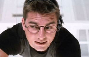 In Mission Impossible (1996), the movie title is a lie as the mission is actually possible: In Mission Impossible (1996), the movie title is a lie as the mission is actually possible