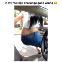 Funny, Videos, and Wild: In my feelings challenge gone wrong Go Follow @humor for wild videos😂🔥😱