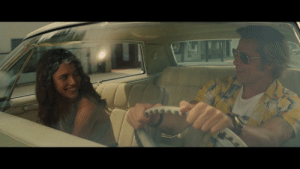 In Once Upon a Time in Hollywood (2019), Pussycat tells Cliff she is 18. You can tell she is lying because Margaret Qualley was 24 when the movie came out.: In Once Upon a Time in Hollywood (2019), Pussycat tells Cliff she is 18. You can tell she is lying because Margaret Qualley was 24 when the movie came out.