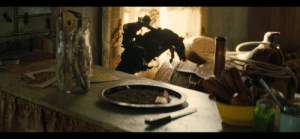 In Once upon a time in Hollywood (2019), Rick Dalton is reading a book about a 'bronco buster'. When Cliff Booth enters Spahn's house at the hippie infested ranch, this sculpture can be seen inside. It is 'The Bronco Buster' by Frederic Remington.: In Once upon a time in Hollywood (2019), Rick Dalton is reading a book about a 'bronco buster'. When Cliff Booth enters Spahn's house at the hippie infested ranch, this sculpture can be seen inside. It is 'The Bronco Buster' by Frederic Remington.