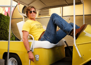 In Once upon a time in Hollywood (2019) the stuntman Cliff Booth (Brad Pitt) needed a stuntman to perform some of the scenes.: In Once upon a time in Hollywood (2019) the stuntman Cliff Booth (Brad Pitt) needed a stuntman to perform some of the scenes.