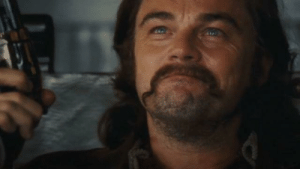 In Once Upon a Time in Hollywood, DiCaprio did indeed improvise the Rick Dalton improvising Caleb DeCoteau scene.: In Once Upon a Time in Hollywood, DiCaprio did indeed improvise the Rick Dalton improvising Caleb DeCoteau scene.