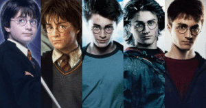 In order to keep playing Harry Potter in the movies, Daniel Radcliffe's contract had a rule that said he had to age with each new movie: In order to keep playing Harry Potter in the movies, Daniel Radcliffe's contract had a rule that said he had to age with each new movie