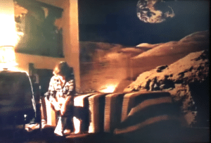 In Phantasm (1979) Mike has lunar surface wallpaper in his room. My parents had that same wallpaper in the basement of the house I grew up in. Also, I was born in 1979.: In Phantasm (1979) Mike has lunar surface wallpaper in his room. My parents had that same wallpaper in the basement of the house I grew up in. Also, I was born in 1979.